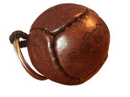 Vintage Football Key Ring