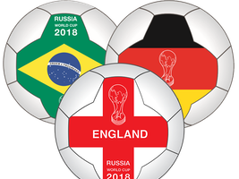World Cup Flag Balls