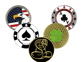 Branded Golf Ball Markers