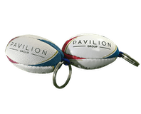 Rugby Ball Key Rings